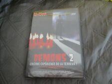 "RARE! DVD NEUF ""DEMONS 2"" film d'horreur de Lamberto BAVA"