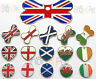Dog Cat Tag Country Flag Designs Various Shapes PET ID TAGS ENGRAVING OPTIONS