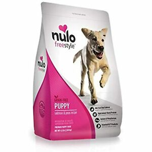 Nulo Puppy Food Grain Free Dry Food With Bc30 Probiotic And Dha (Salmon And Peas