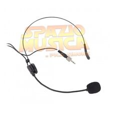 Proel Eikon Hcm25se Microfono archetto a Condensatore Mini Jack 3.5 mono Nero