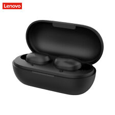 Original Lenovo TWS Auricolari Bluetooth 5.0 Wireless Cuffie Nero