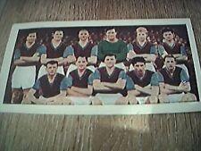 vintage trade card soccer teams 1950s aston villa no 39