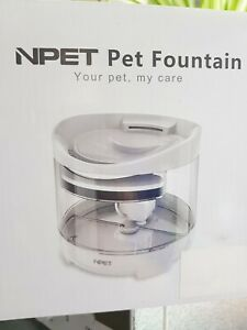 NPET Pet Water Fountain for Cats and Dogs Model WF050 Drinking Fountain - C81