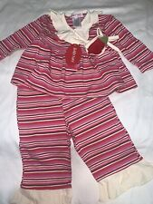 NWT Baby Nay Girls Striped 2 Pc Set Outfit 3 Months Adorable Great Gift