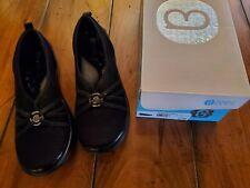 Bzees Niche Women's Size 10M Comfort Slip On Shoes Morel Black NIB