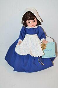 """Madame Alexander 8""""  Pilgrim doll 75th Ann.  1998"""