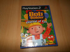 Bob the Builder Festival of Fun PS2 NEW SEALED