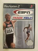 ESPN INTERNATIONAL TRACK & FIELD - PS2 -NO MANUAL TESTED - FREE S/H