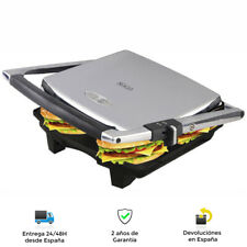 Parrilla Plancha, Sandwichera 4 Rebanadas 2000W - Control automático Temperatura