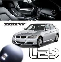 BMW E60 16 Bombillas LED Blanco Cabina Luz Techo Interior Puertas Sol Maletero