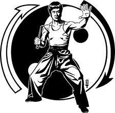 Sticker Bruce Lee 106 - 58x57 cm