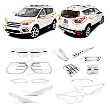 30p Accessories Chrome Smart Molding Covers Trims For 2017 2018 Ford Escape Suv Fits