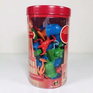 Disney Pixar The Incredibles 2   Tub Of Heroes And Villains (Disney Store) 71/72