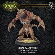 Hordes Circle of Orboros Feral / Pureblood / Stalker Warpwolf (PIP72057) NEW