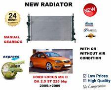 Pour Ford Focus Mk II de 2.5 st 225 Bhp 2005- >2009 Nouveau Radiateur Qualité