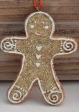Gingerbread Lady Hanging Christmas Decoration by Gisela Graham