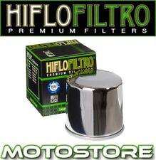 Hiflo Cromo Filtro de aceite se adapta a Honda Cb1300 F S 2003-2012