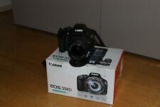 Fotocamera Canon EOS 550D reflex digitale + obiettivo 18-55 IS + sd 8gb + scatol