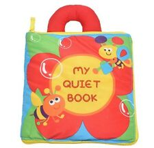 My Quiet Book Baby Soft Cloth Book Baby Early Learn Education Development Toys