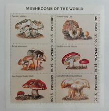 Grenada 1997** Klb.3596-01. Mushrooms of the World MNH [7II;77]
