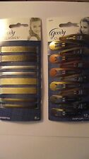 ^GREAT DEAL ~ Goody Classics ~ 12 Pack of Snap Clips & 8 Pack of Barrettes!!