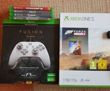 Xbox One S 1TB + Scuff + 4 Spiele
