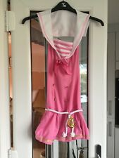 Ladies Leg Avenue Pink Sexy Shipmate/Sailor Fancy Dress Costume. Size XS.