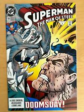 Superman The Man of Steel #19 First Print Excellent Condition Comic Book