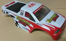 1/10 RC Monster Truck Off Road CORPO SHELL ROSSO E BIANCO