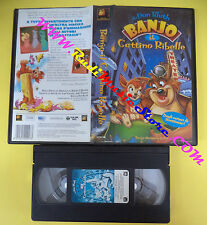 VHS film BANJO IL GATTINO RIBELLE 1998 animazione 20th CENTURY FOX (F18*) no dvd