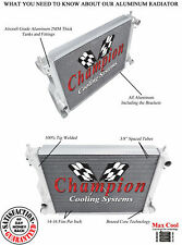Champion 3 Row All Aluminum DR Radiator For 2005 - 10 Ford Mustang