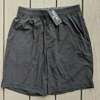 "Rhone 9"" Inch Men's Mako Shorts Black Athletic Workout"