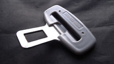BMW METAL GREY SEAT BELT ALARM BUCKLE KEY INSERT PLUG CLIP/SAFETY CLASP STOPPER
