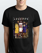 Legends Kobe Bryant Micheal Jordan Lebron James T Shirt HOODIE FRIENDS INSPIRED