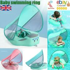 Baby Water Seat Inflatable Kids Swim Ring Swimming Pool Infant Float Safety AU