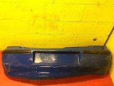 VW Polo 2001 99-2001 1.0 Hatch Rear Bumper Blue -Dent-NextDay#9707