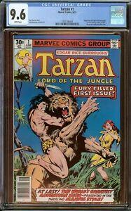 Tarzan #1 CGC 9.6, (white Pages) John Buscema Art 1977
