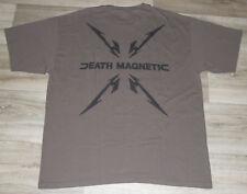 Metallica Death Magnetic T Shirt Tour Rock Concert Slayer Anthrax Megadeth Sz XL