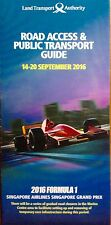 F1 Singapore Road Access & Public Transport Guide 2016