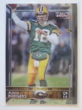AARON RODGERS  - Topps Chrome 2015 #2 (Green Bay PACKERS) NFL Playercard