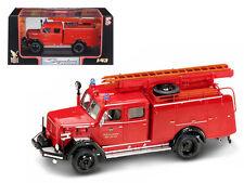1964 Magirus Deutz 150 D 10 F TLF-16 Fire Engine 1:43 Diecast Toy Truck 43015r