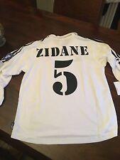 Real Madrid MEDIUM Retrò Ricrea Zidane 5 2002 Centenario shirt Champions League
