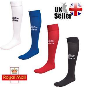 Umbro Mens Football Socks, 4 Colours Black, White, Red, Blue, Navy Size 6-11
