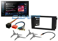 """NEW 6.2"""" PIONEER TOUCHSCREEN CAR STEREO RADIO DVD/CD W/ INSTALL KIT FOR 00-03 A6"""