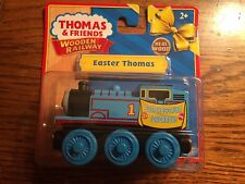 Easter Thomas Engine for the Thomas Wooden Railway System New in Package!