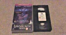 THE LAWNMOWER MAN Director's Cut UK PAL VHS VIDEO 1993 Pierce Brosnan Sci-Fi VR