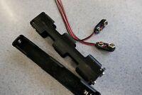 2 x 4 AA Standard Long Battery Holders & PP3 Snaps
