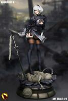 Moonlight Studio 1/4 NieR Automata YoRHa 2B Removable Skirt Statue Toys Presale