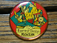 Pin's Euro Disney 1992 Kodak Eurodisney Goofy Dingo train
