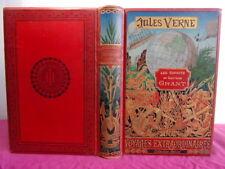 LES ENFANTS DU CAPITAINE GRANT Jules Verne Hetzel. Reliure de Engel